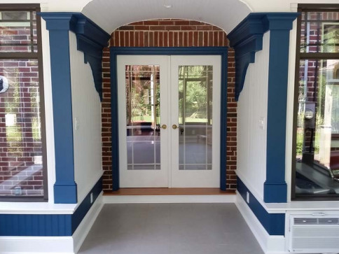 Vaulted Sunroom Addition